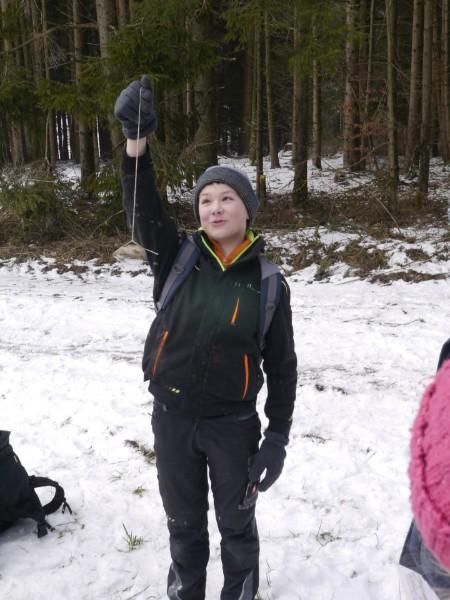 """OVV-Jugend beim Thema """"Orientierung im Gelände"""""""
